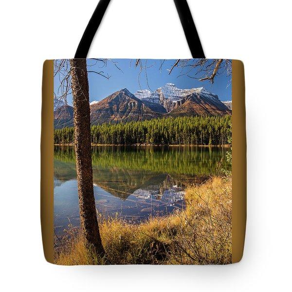 Lake Herbert Reflections Tote Bag