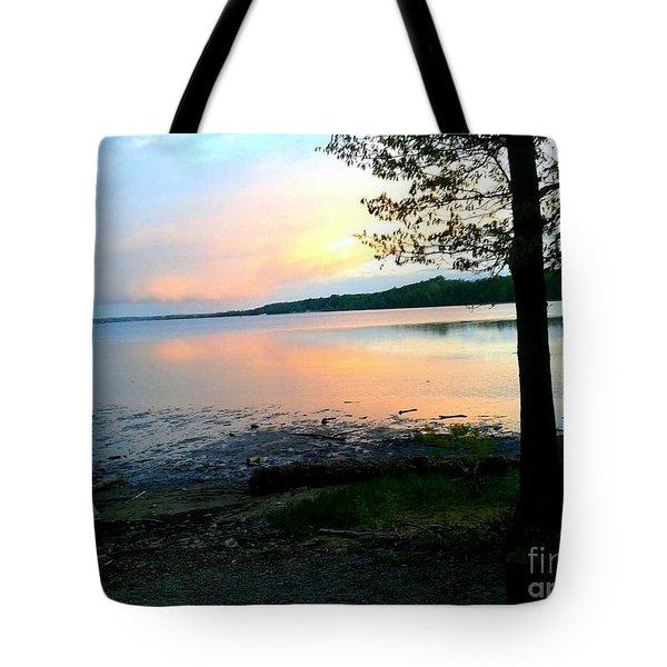 Lake In Virginia Tote Bag