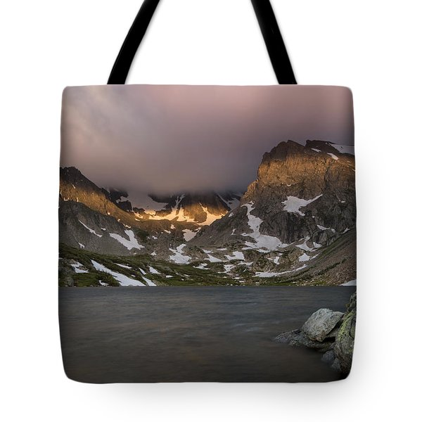 Tote Bag featuring the photograph Lake Isabel by Keith Kapple