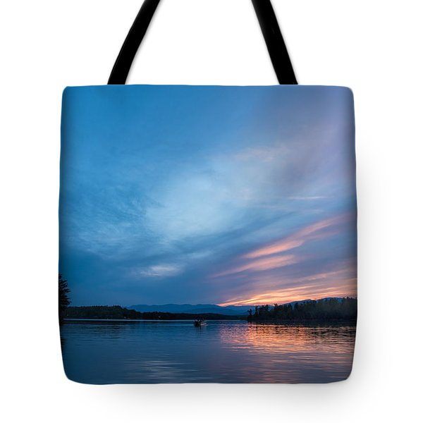 Lake James Portal Tote Bag by Robert Loe