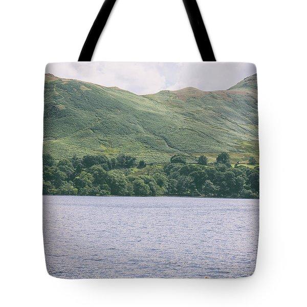 Lake Kayaking Tote Bag