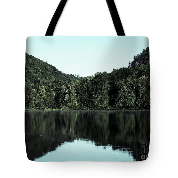 Tote Bag featuring the photograph Lake Landscape by France Laliberte