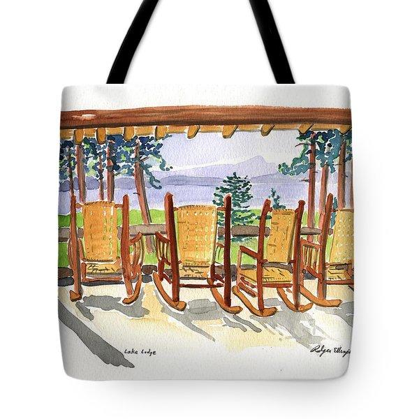 Lake Lodge Tote Bag