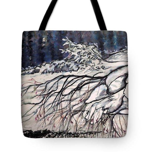 Lake Louise In Winter Tote Bag