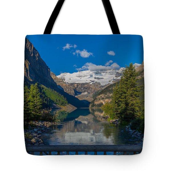 Lake Louise Morning Tote Bag