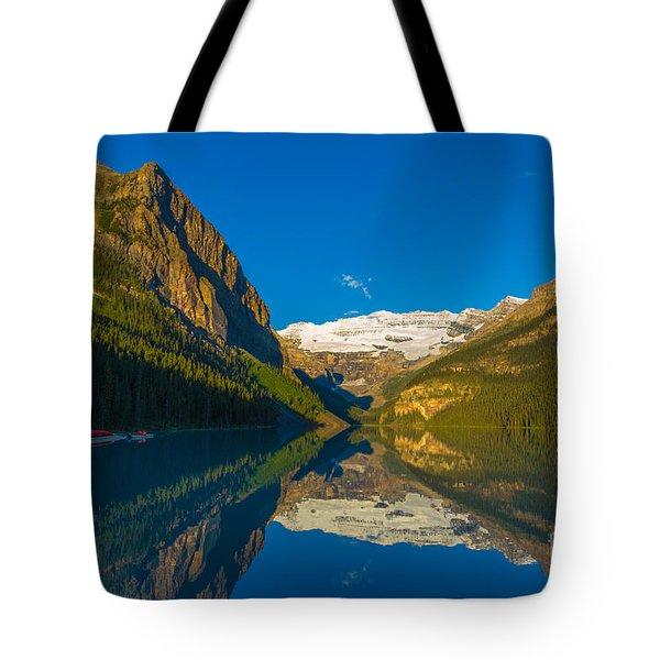 Lake Louise Reflections Tote Bag