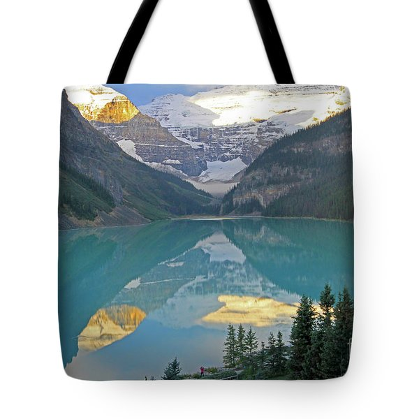 Lake Louise Sunrise Tote Bag