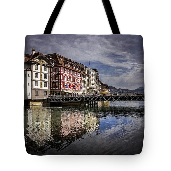 Lake Lucerne  Tote Bag by Carol Japp