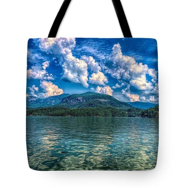 Lake Lure Beauty Tote Bag