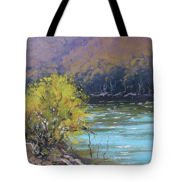 Lake  Lyell Reflections Tote Bag