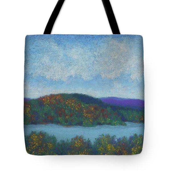 Lake Mahkeenac Tote Bag