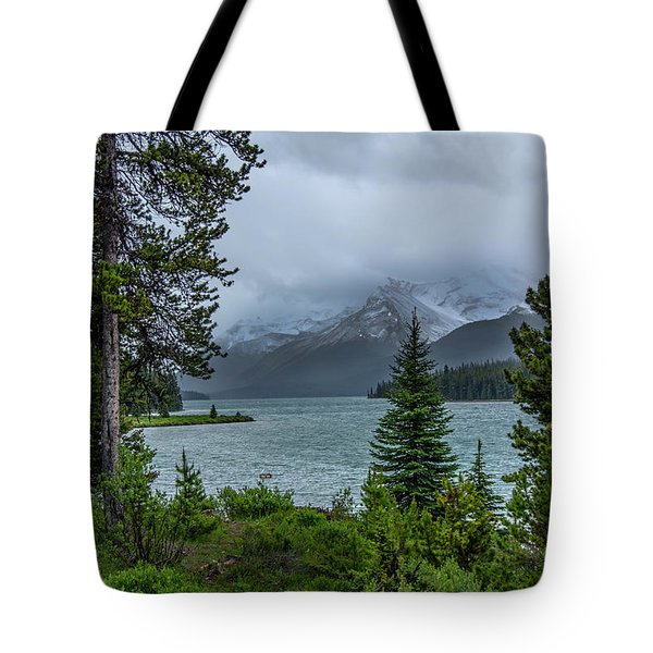 Lake Maligne  Tote Bag