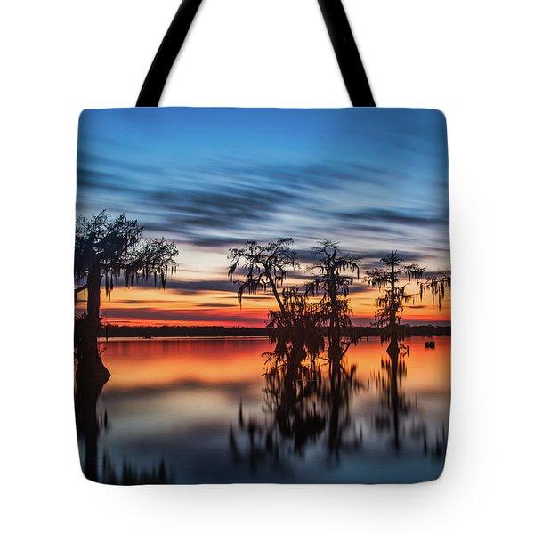 Lake Martin Sunset Tote Bag