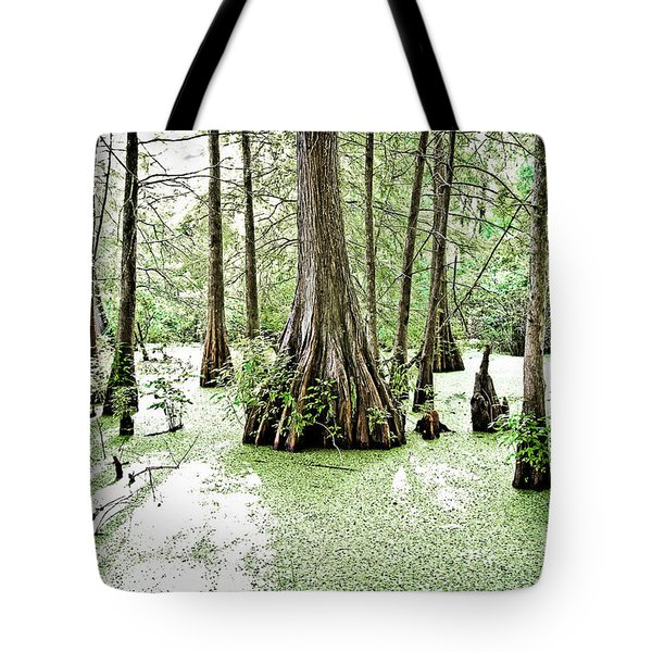 Lake Martin Swamp Tote Bag by Scott Pellegrin
