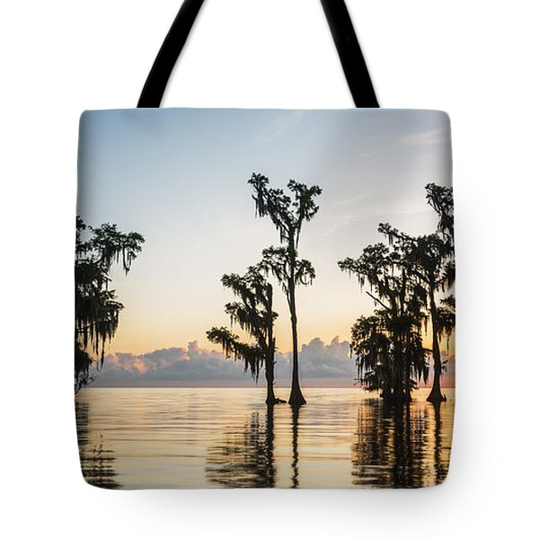 Lake Maurepas Sunrise Tote Bag