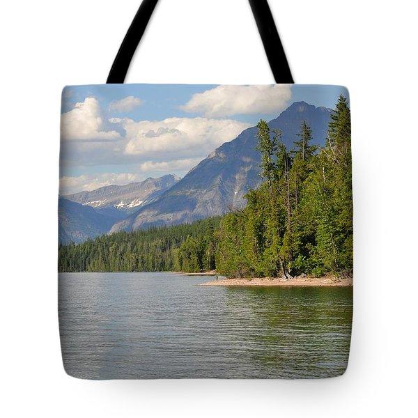 Lake Mcdonald Tote Bag by D Nigon