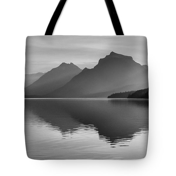 Tote Bag featuring the photograph Lake Mcdonald by Monte Stevens