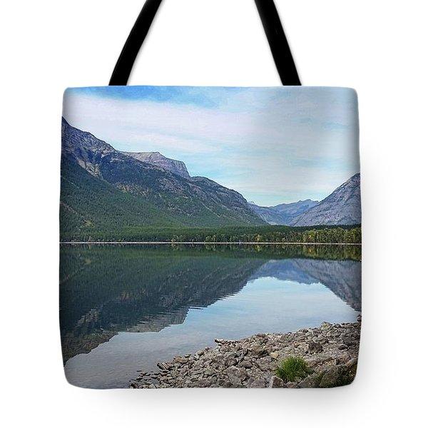 Lake Mcdonald Reflection Tote Bag