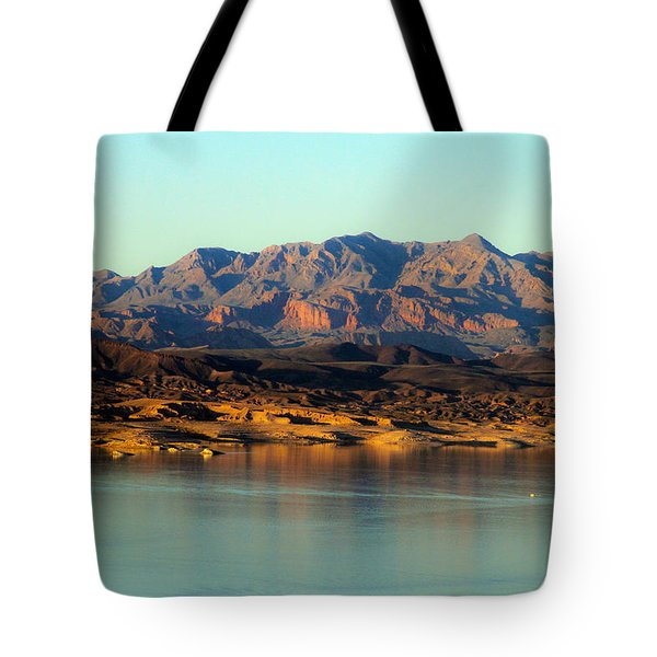 Lake Mead Before Sunset Tote Bag