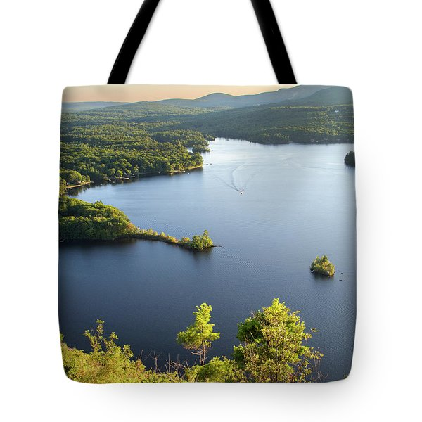 Lake Megunticook, Camden, Maine  -43960-43962 Tote Bag