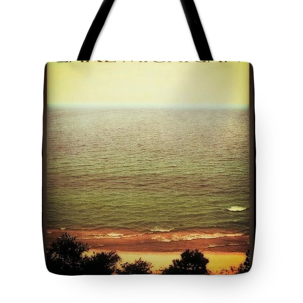 Lake Michigan M-22 Overlook Tote Bag