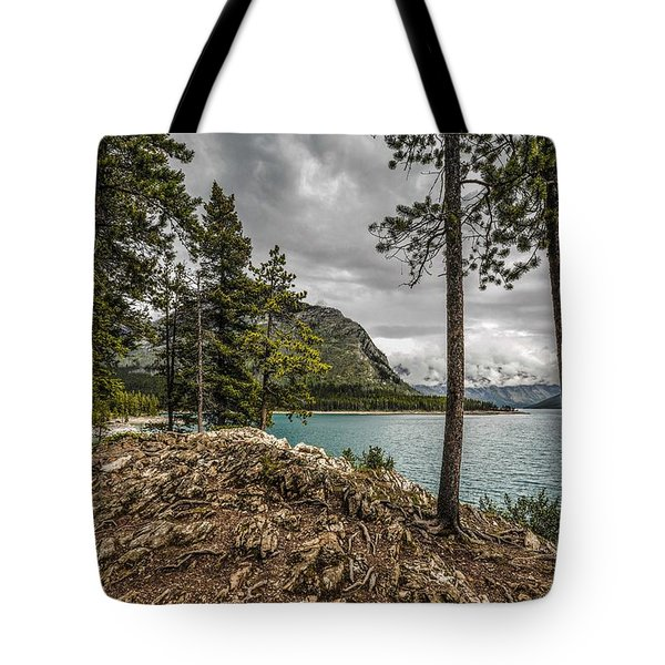 Lake Minnewanka Tote Bag