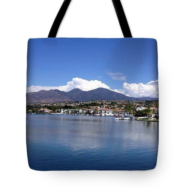 Lake Mission Viejo Tote Bag