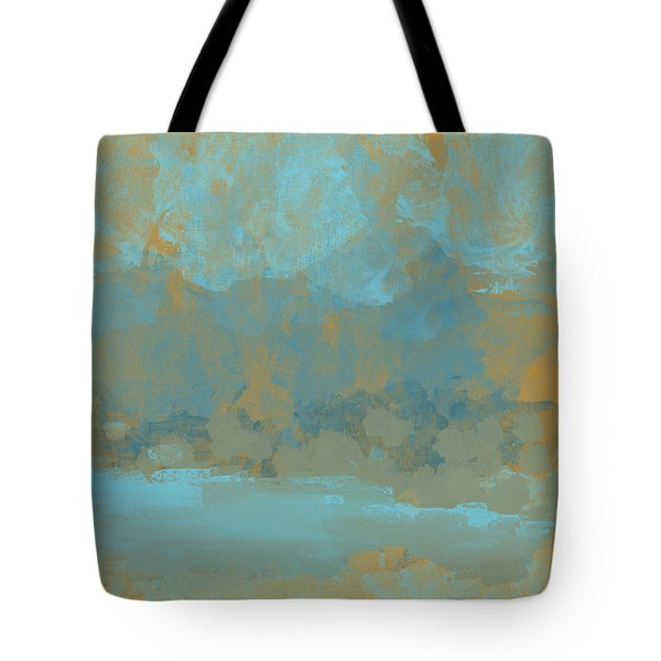 Lake Mountain Tote Bag