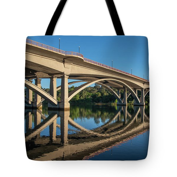Lake Natoma Crossing Tote Bag