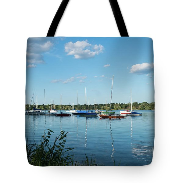 Lake Nokomis Minneapolis City Of Lakes Tote Bag