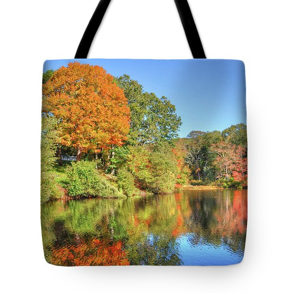 Lake Noquochoke, Dartmouth, Ma Tote Bag