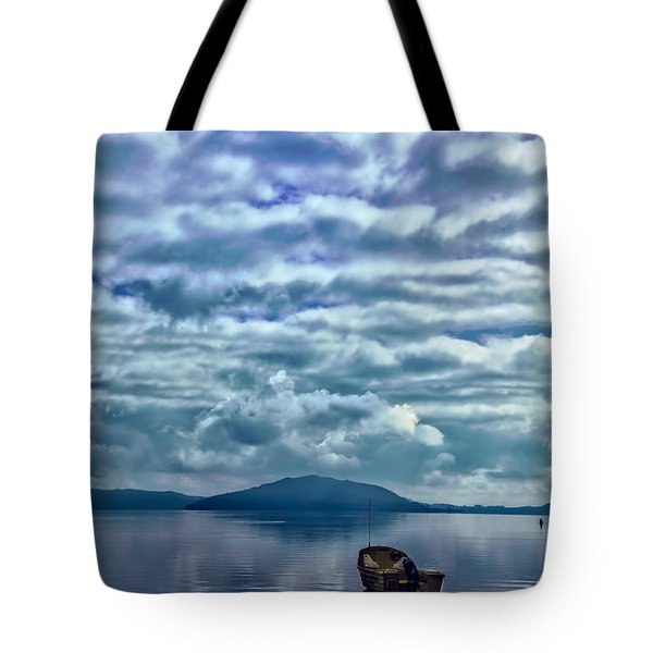 Lake Of Beauty Tote Bag
