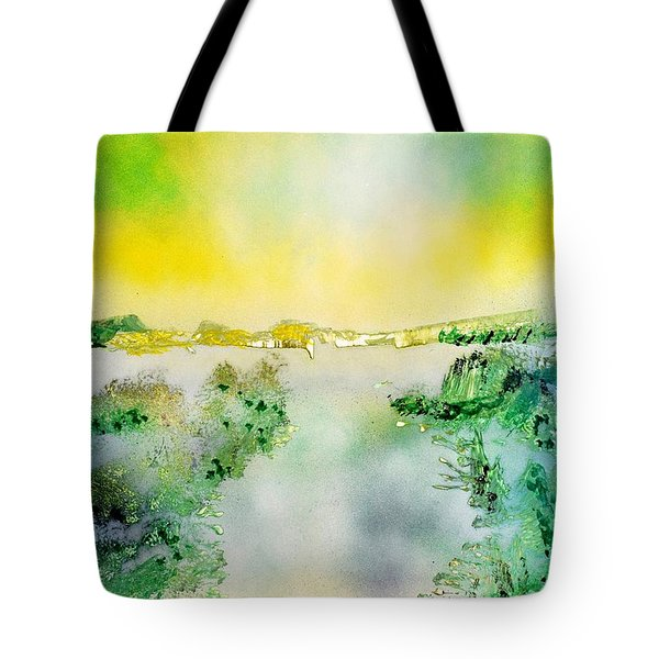 Lake Of Transparency  Tote Bag