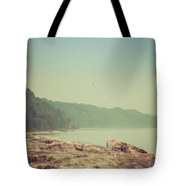 Tote Bag featuring the photograph Lake Park Port Washington by Joel Witmeyer