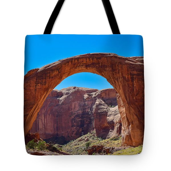 Tote Bag featuring the photograph Lake Powell - Rainbow Bridge by Dany Lison