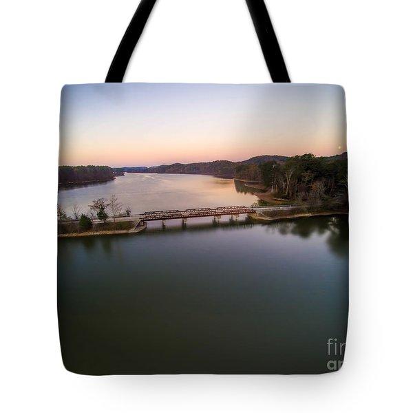 Lake Purdy At Grants Mill Tote Bag