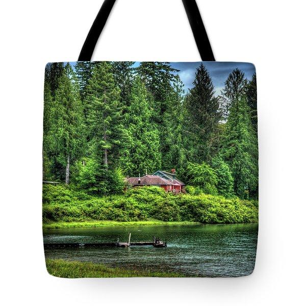 Lake Quinault 3 Tote Bag