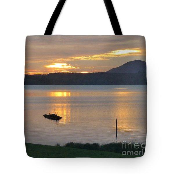 Lake Quinault Sunset - 2 Tote Bag