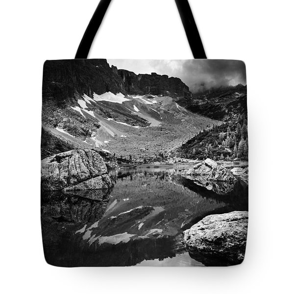 Tote Bag featuring the photograph Lake Reflections by Yuri Santin
