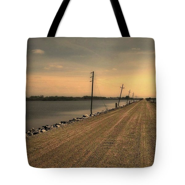 Lake Road Tote Bag