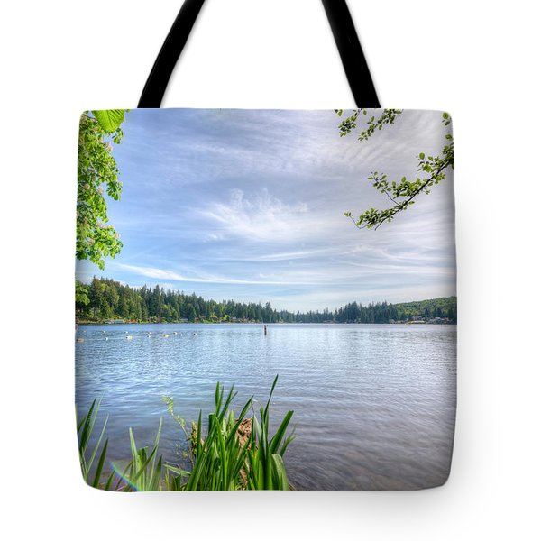 Lake Roesiger Tote Bag