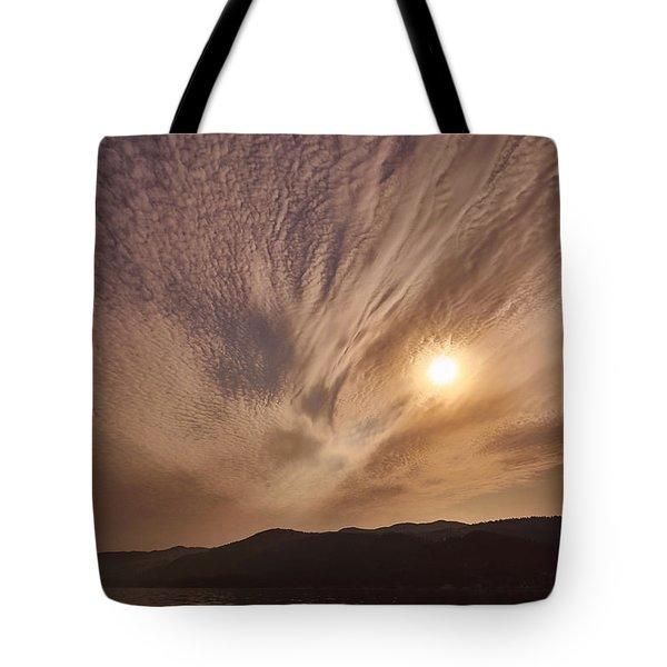 Lake Roosevelt Washington Tote Bag