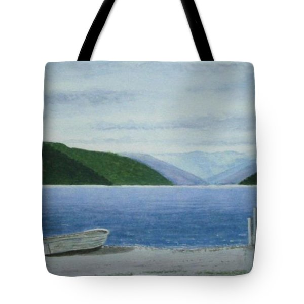Lake Rotoroa, South Island, New Zealand Tote Bag by Peter Farrow