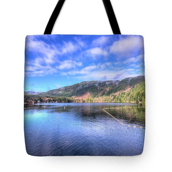 Lake Samish Tote Bag