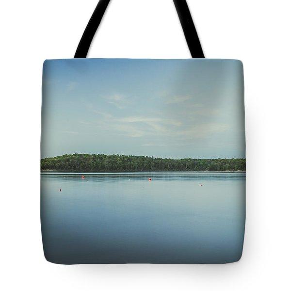Lake Scene Tote Bag by Scott Meyer