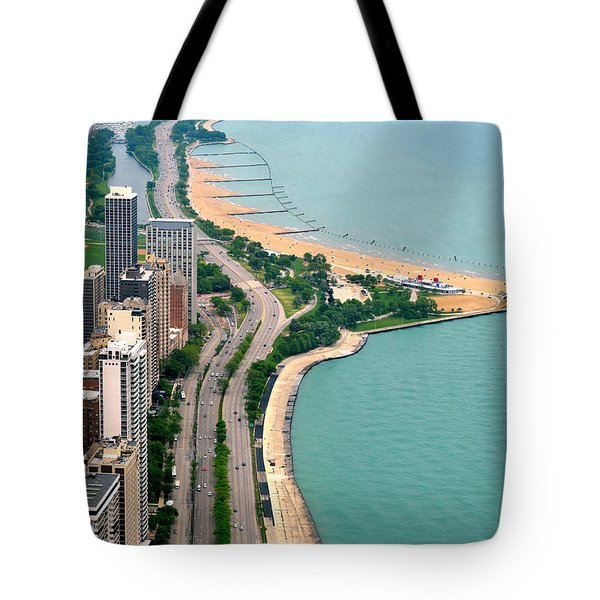 Lake Shore Dr . Chicago Tote Bag