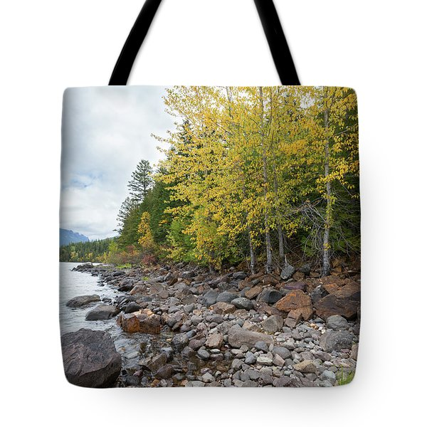 Tote Bag featuring the photograph Lake Shore by Fran Riley