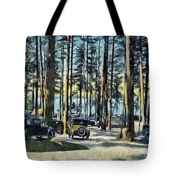 Lake Shore Park - Gilford N H Tote Bag
