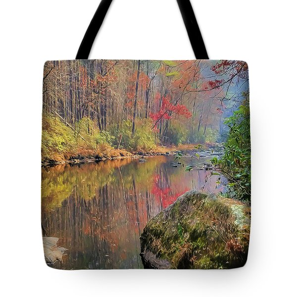 Chattooga Paradise Tote Bag by Steven Richardson