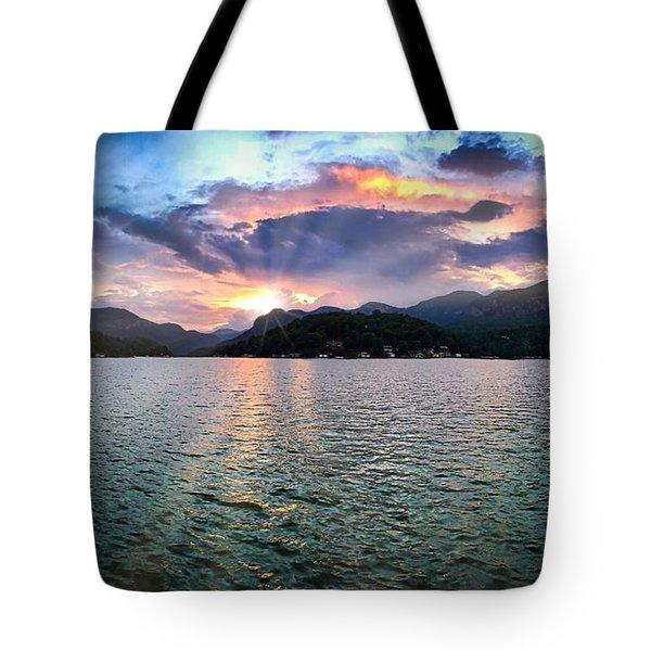 Lake Solstice Tote Bag